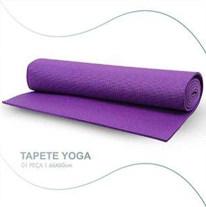 Colchonete Exercícios Yogakap Pvc 166x60 Antiderrapante 5mm
