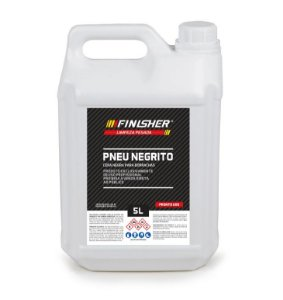 PNEU NEGRITO CERA NEGRA PARA BORRACHAS 5LT - FINISHER