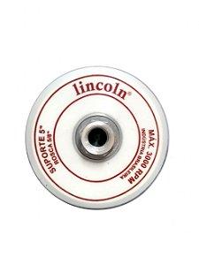 DISCO SUPORTE 5'' ROSCA 5/8 SUPER VELCRO - LINCOLN