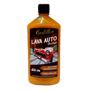 Shampoo Lava Auto Desengraxante 1:100 - Orange - Cadillac