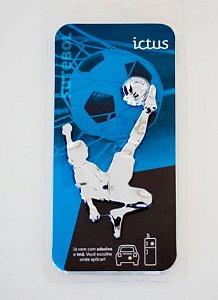 Adesivo Cromado Ictus - Futebol