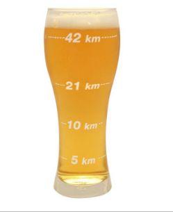 Copo de Cerveja Distâncias Corrida