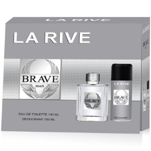 KIT LA RIVE BRAVE MAN EDT 100ML DESODORANTE 150ML