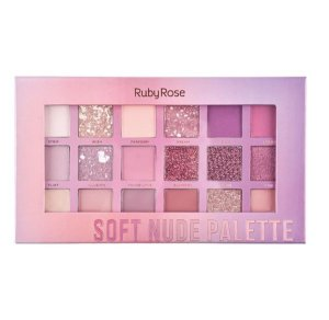 Paleta De Sombra Soft Nude Feels Ruby Rose Hb-1045