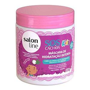 Máscara de Hidratação Intensa S.O.S Cachos Kids Salon Line 500gr