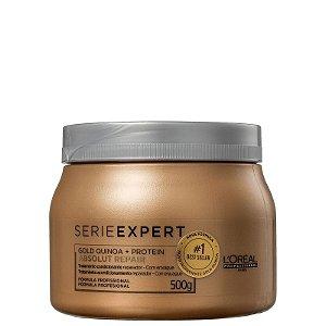 L'Oréal Professionnel Serie Expert Absolut Repair Gold Quinoa + Protein - Máscara Capilar 500ml