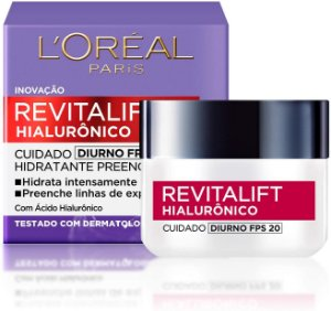 L'Oréal Paris Revitalift Hialurônico Diurno FPS20 - Creme Anti-Idade  50ML