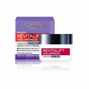 L'Oréal Paris Revitalift Hialurônico Noturno - Creme Anti-Idade 50ml