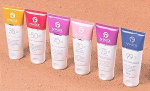Protetor Solar Facial  Anasol - 60g