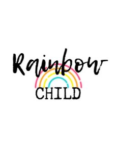 Camiseta Rainbow Child