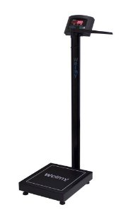 Balança Antropométrica Eletrônica 200 Kg X 50g Welmy Preta