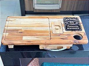 Tabua De Carne Churrasco Inteligente Jack Daniel's C Gaveta