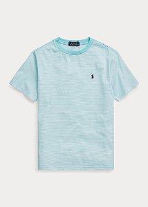 Camiseta listrada Ralph Lauren - Azul Clara