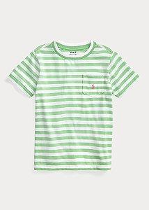 Camiseta Listrada Ralph Lauren - Verde