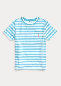 Camiseta Listrada Ralph Lauren - Azul Netuno