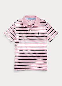 Camisa Polo Ralph Lauren Listrada Rosa