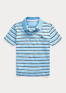 Camisa Polo Ralph Lauren Listrada Azul