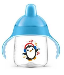Copo Pinguim 260ml Azul