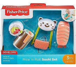 Mordedor Meu Primeiro Sushi - Fisher Price - 3M+