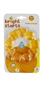 Mordedor Teethe Around Amarelo - Bright Starts - 3m+