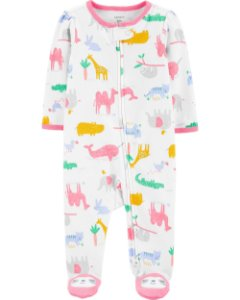 Pijama com pé - Animais