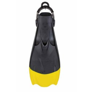 Nadadeira F1 Bat Fin Amarela Hollis