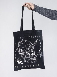 """Ruptura do Visível"" Ecobag - Collab Sabot"