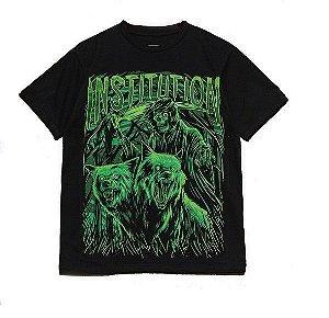"""Hunter"" Camiseta Masculina Preta"