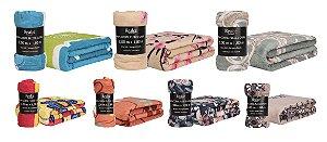 Manta/Cobertor Estampada em Microfibra 1,80x2,00M Realce Premium - Sultan