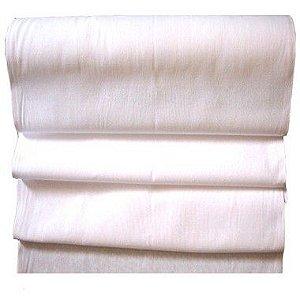 Rolo de Tecido Branco PP24 Santa Margarida 30x0,69m Trama Pé de Galinha