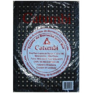 Tapete de Borracha Catumbi para Box de Banheiro 30x42cm