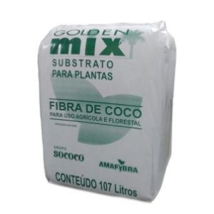 Substrato - Fibra de Coco - Amafibra Golden Mix 47