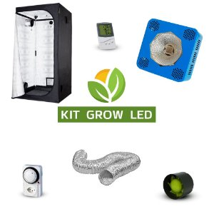 Kit Grow LED Cultivo Indoor Completo  9600