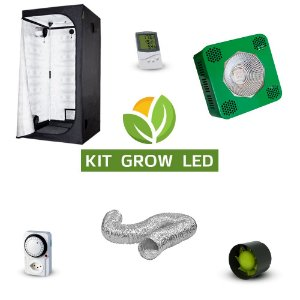 Kit Grow LED Cultivo Indoor Completo