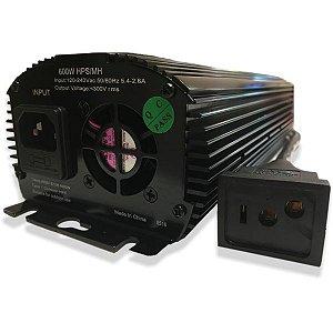Reator Eletrônico para lâmpada de Vapor de Sódio e Valor Metálico