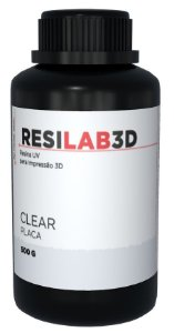 Resina Resilab 3D Clear 500g - Wilcos
