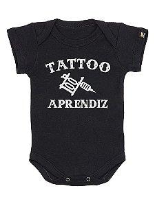 Body Bebê Tattoo Aprendiz Preto