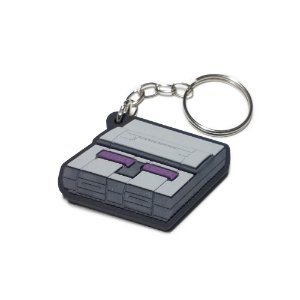 Chaveiro Video Game Super Nintendo Emborrachado