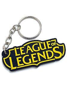 Chaveiro League of Legends Emborrachado