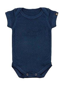 Body Bebê Básico Marinho
