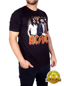 Camiseta ACDC Highway To Hell Preta
