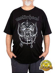 Camiseta Plus Size MotorHead Preta