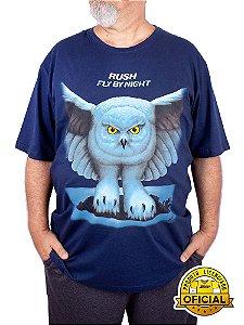 Camiseta Plus Size Rush Fly By Night Marinho