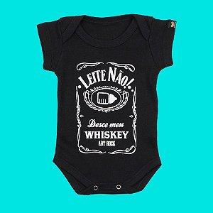 Body Bebê Leite Não Preto