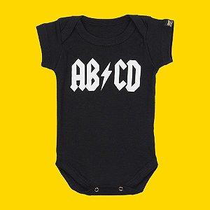 Body Bebê ABCD Preto