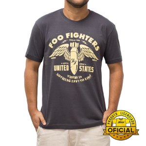 Camiseta Foo Fighters US Chumbo