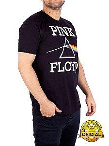 Camiseta Pink Floyd Prism Preta