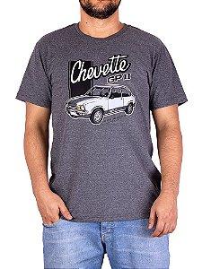 Camiseta Chevette GP Grafite.