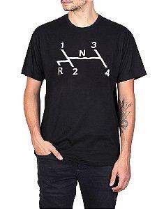 Camiseta Fusca Marcha Preta.