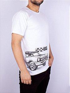 Camiseta Maverick GT Big Branca.